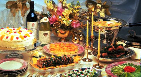 Panache Catering by Foodarama specializes in formal events Kosher Catering, set up and Waiters, for Weddings, Bar-Bat Mitzvah's, Graduations, Baby Shower, and bridal shower, Barbecue Catering, BBQ Catering, Birthday Parties, and Graduations, as well as Corporate Functions, Intimate Dinners. Our competition is Ben and Irv's menu, Betty the caterer menu, jacks deli menu, Klapholz menu.  We deliver for Passover to the Philadelphia Metropolitan Area which includes Center City Philadelphia, the Mainline, Montgomery County, Bucks County, Delaware County