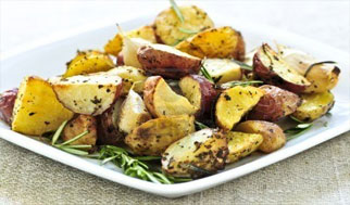 Herb potatoes for Thanksgiving Kosher certified in New Jersey, Cherry Hill, Mount Laurel, and Mainline Philadelphia by Panache Catering by Foodarama in Bensalem Pennsylvania 19020.